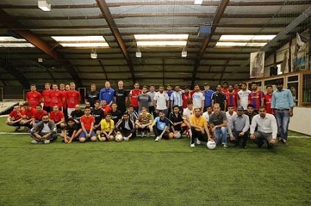 Teilnehmer Charity Soccer Cup 2014
