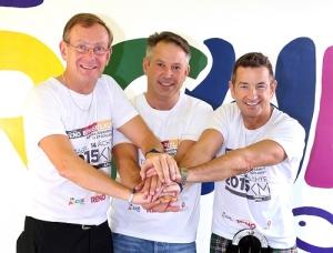 Gemeinsam stark! Bernd Siggelkow, Jens Rauschen, John McGurk (v.l.)