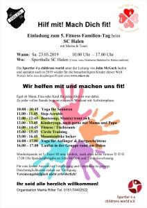Einladung Marita Ritter Fitnesstag